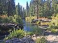 Woodruff Bridge and Rogue River, Rogue River Siskiyou National Forest (25257365285).jpg