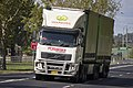 Woolworths B-Double operated by Ron Finemore Transport on Hammond Ave in East Wagga.jpg