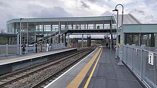 Worcestershire Parkway railway station Railway station in Worcestershire, England