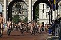 World Naked Bike Ride in London on The Mall, June 2013 (8).JPG