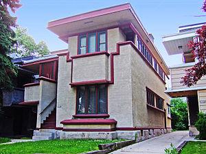 American System-Built Homes - Model F Duplex