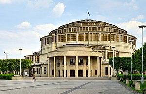 Centennial Hall - Image: Wrocław Jahrhunderthalle 5