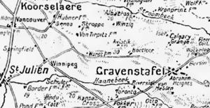 Capture of Wurst Farm - Image: Wurst Farm area, 1917