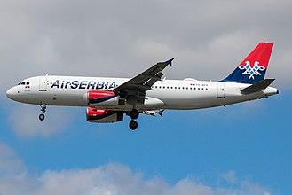 Air Serbia - Air Serbia Airbus A320-200