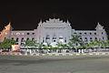 Yangon cityhall at night.JPG