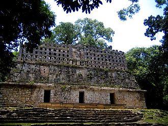 Yaxchilan - Structure 33 at Yaxchilan