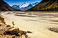 Yellow river between the mountains in Jasper National Park, in the Canadian Rockies.jpg