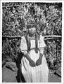 Yokut Indian girl of school age, Tule River Reservation near Porterville, California, ca.1900 (CHS-3799).jpg
