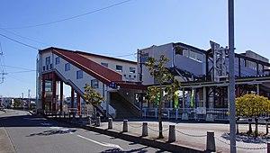 Yorii Station - Image: Yorii Station north entrance 20170211