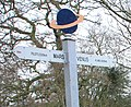 York Solar System - Earth signpost detail - geograph.org.uk - 1220299.jpg