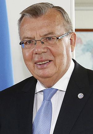 Yuri Fedotov - Image: Yuri Fedotov July 2014
