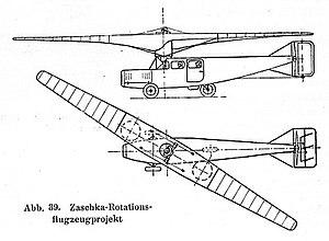 Engelbert Zaschka - Zaschka-Rotationsflugzeug (Zaschka Rotary-Wing Airplane)