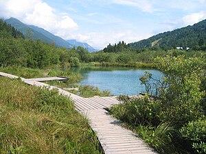 Sava - Zelenci—spring of Sava Dolinka