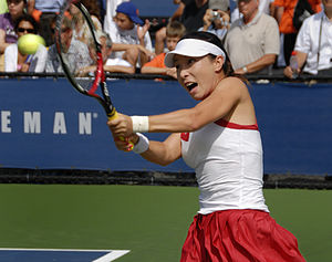 2008 US Open (tennis) - Zheng Jie