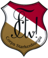 Zirkel auf Schild Corps Starkenburgia.png