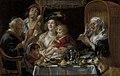 Zoals de ouden zongen, piepen de jongen, Jacob Jordaens I, 1638, Koninklijk Museum voor Schone Kunsten Antwerpen, 677.jpg