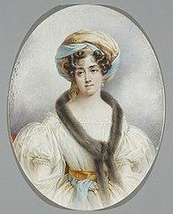 Portrait of Zofia Zamoyska nee Czartoryska (1780-1837)