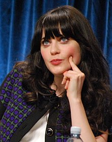 Zooey Deschanel 2012.