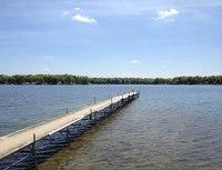 Zukey Lake and dock in southeastern Michigan.tif