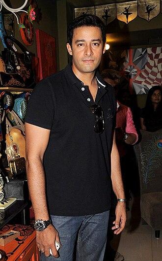 Gladrags Manhunt and Megamodel Contest - Image: Zulfi Syed at the opening of Fluke store