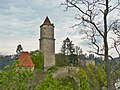 Zvíkov castle in HDR - panoramio.jpg