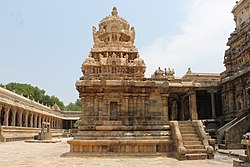 """A arcitecture of World Heritage Monument Airavatesvara Temple"".JPG"