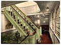 """Konig Albert,"" staircase, North German Lloyd, Royal Mail Steamers-LCCN2002720830.jpg"