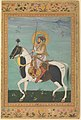 """Shah Jahan on Horseback"", Folio from the Shah Jahan Album MET DP234074.jpg"