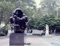 """Spirit of Enterprise"" sculpture, by Jacques Lipchitz, in the Ellen Phillips Samuel Memorial Scupture Garden on Kelly Drive in Fairmount Park, Philadelphia, Pennsylvania LCCN2011633585.tif"