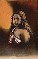 """Une beauté tahitienne""; carte postale, c. 1910.jpg"