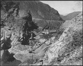 """View of dam from point 2."" - NARA - 294506.tif"
