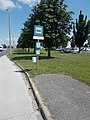 'Győr(Ipari Park), Propex Kft.' bus stop, 2018 Győr.jpg