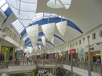 """Bluewater (shopping centre) - Bluewater """"Thames Walk"""""""
