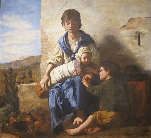 'Woman and Children' by Elizabeth Boott Duveneck, Cincinnati Art Museum