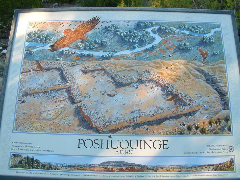`Poshuouinge USDA Forest Service drawing