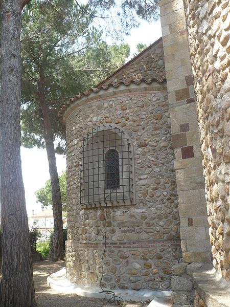 Absidiole de l'église Notre-Dame-des-Anges à Cabestany