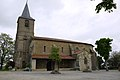 Église Saint-Abdon-et-Saint-Sennen de Labéjan - Façade sud.jpg