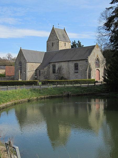 église de Saint-Pierre-Langers, Manche