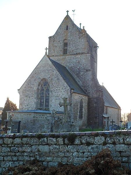 Église Saint-Vigor de fr:Saint-Vigor-des-Monts
