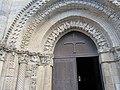Église Saint Nicolas de Maillezais - Détail de la façade (2).JPG