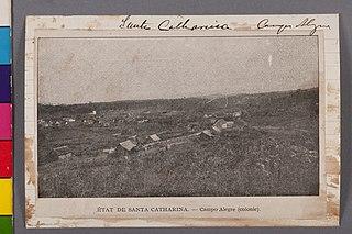 État de Santa Catharina - Campo Alegre (Colonie)