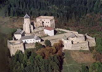 Stará Ľubovňa - Castle from above
