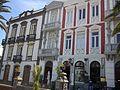 Óváros, Paza Santa Ana épületek, Las Palmas.jpg