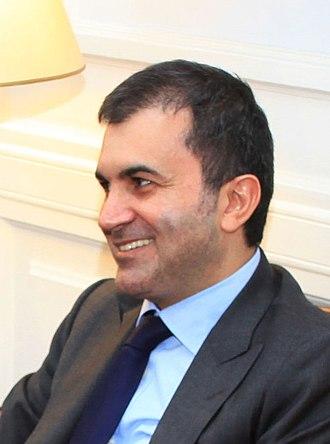 Minister of European Union Affairs (Turkey) - Image: Ömer Çelik cropped