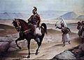 Εφιππος χώρει γενναίε στρατηγέ - ανά τους αιώνας διδάσκων - τους λαούς πώς - οι δούλοι γίνονται ελεύθεροι.jpg