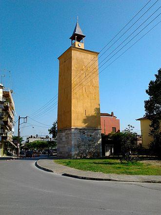 Giannitsa - The clocktower