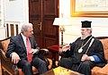 Συνάντηση ΥΠΕΞ Δ. Αβραμόπουλου με τον Αρχιεπίσκοπο Κύπρου κ. Χρυσόστομο (7494081174).jpg
