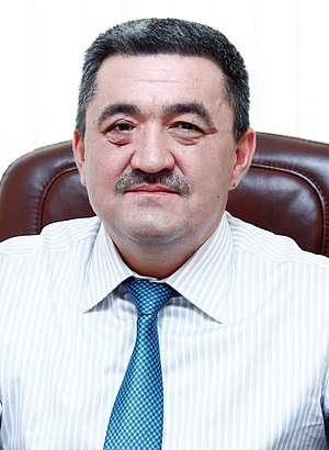 Mayor of Bishkek - Image: АЛБЕК ИБРАИМОВ