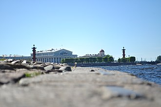 Vasilyevsky Island - Image: Вид на Васильевский Остров