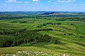 Вид с хребта Карамурунтау на гору Змеиную - panoramio.jpg